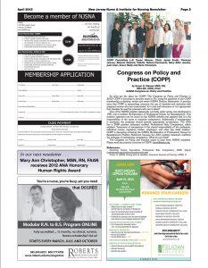 COPP April 2012 Article