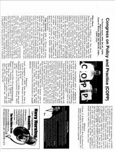 COPP July 2012 Article