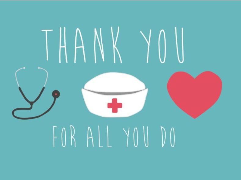 A Thank You to Nurses | | New Jersey State Nurses Association